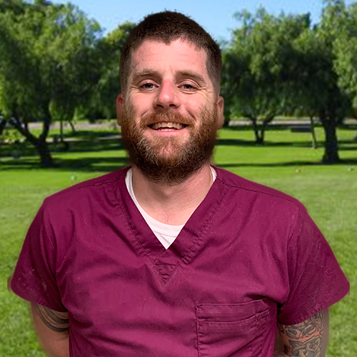 Mike, staff at Stafford Veterinary Center